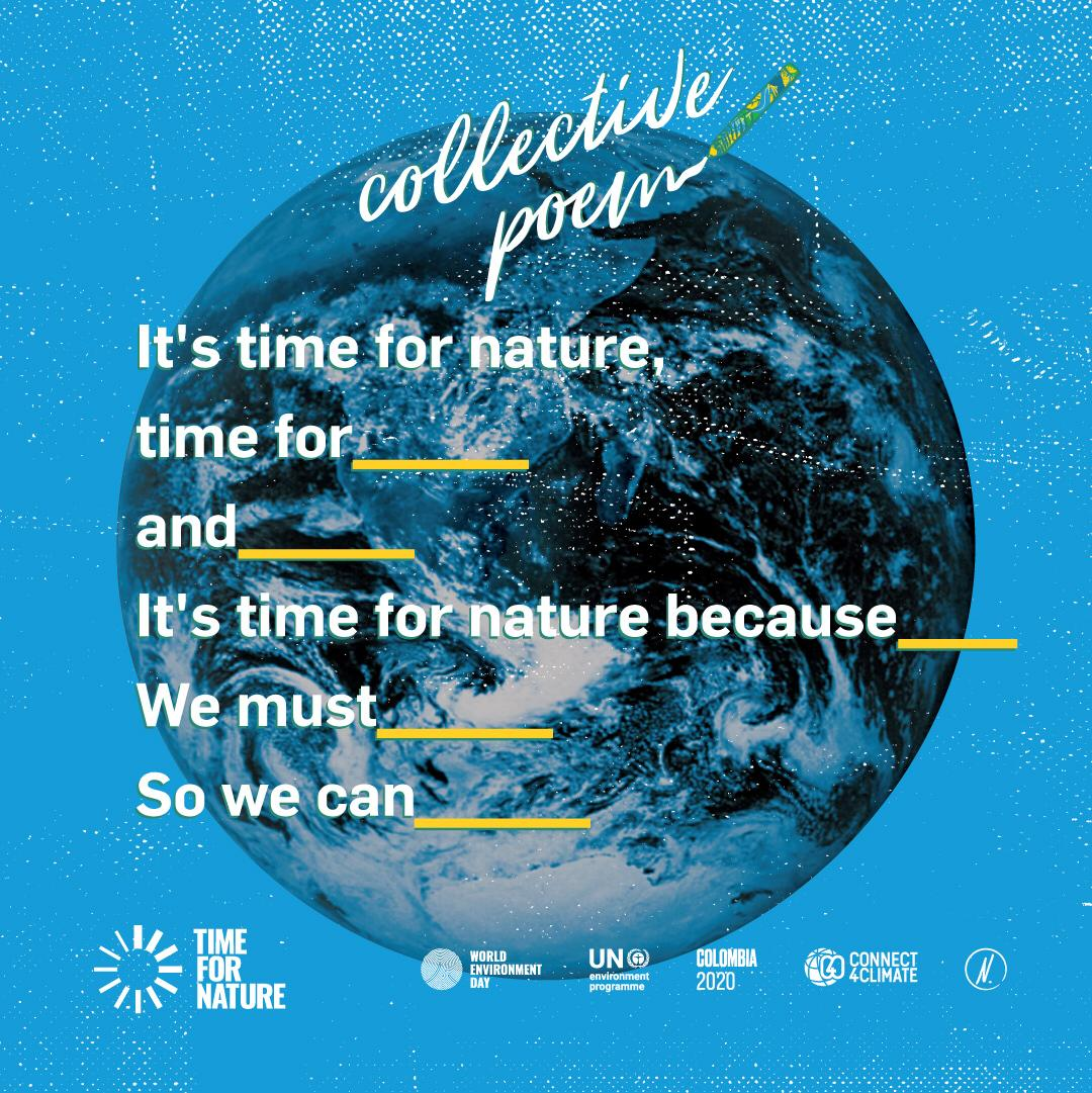 #ForNature Collective Poem on Instagram
