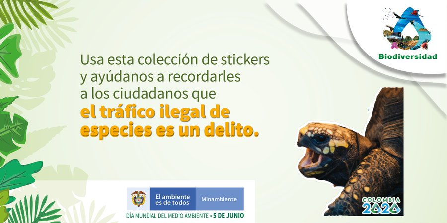 stickers medio ambiente especies